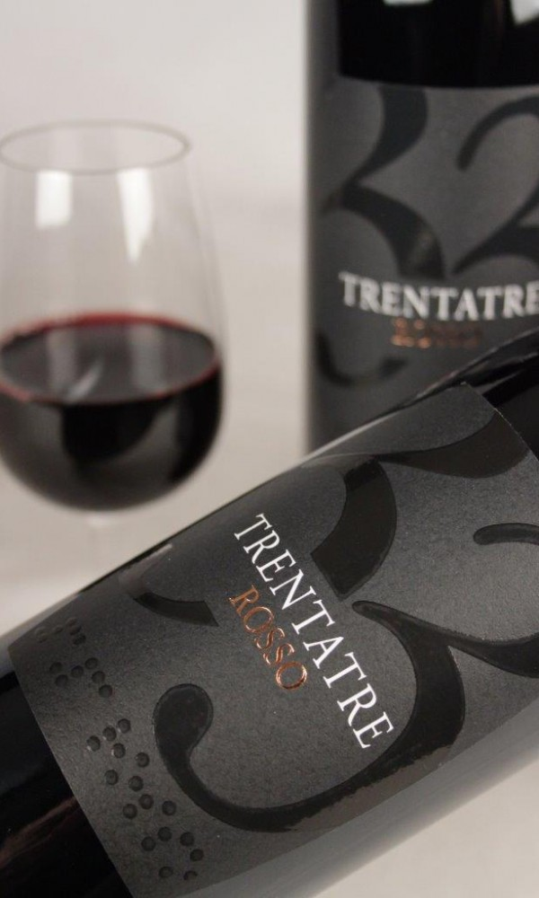 Angelo Rocca Trentatre Salento 2014 Red Wine