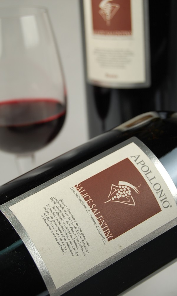 Apollonio Salice Salentino 2012 Red Wine