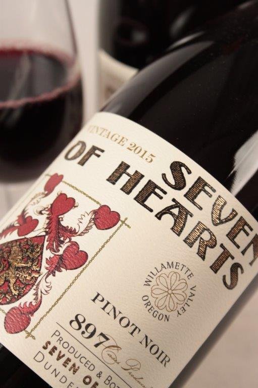 Seven of Hearts Pinot Noir