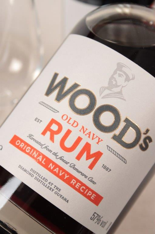 Woods Old Navy Rum