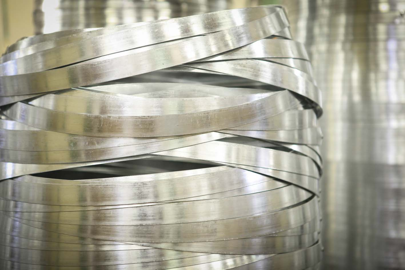 Steel hoops for Brunello di Montalcino 2010 barrels