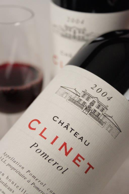 Chateau Clinet 2004 Bordeaux red wine