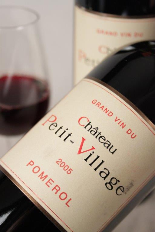 Chateau Petit Villages 2005 Bordeaux red wine