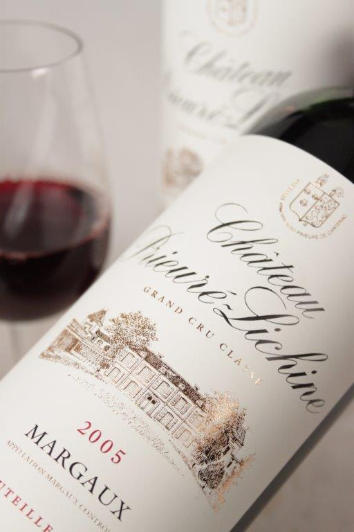 Chateau Prieurie Lichine 2005 Bordeaux red wine