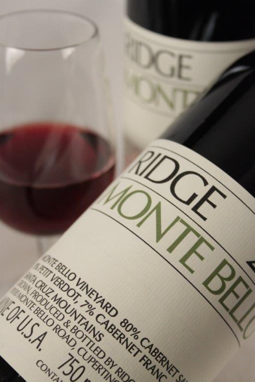 Ridge Monte Bello 2013 red wine