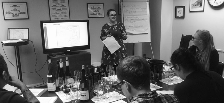 Tasting, training and taking it all in…