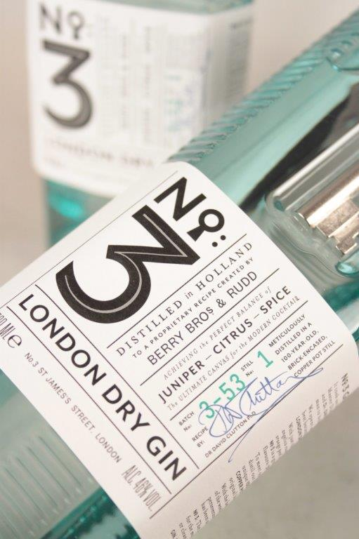 No 3 London Dry Gin