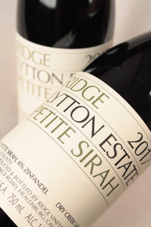 Ridge Lytton Springs Petite Sirah